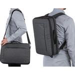 """Case Logic Era 15.6"""" Laptop & Tablet Hybrid Briefcase/Backpack Obsidian CV116 - 8"""
