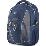 "High Sierra Vuna 15.6"" Laptop & Tablet Backpack Navy 06499"