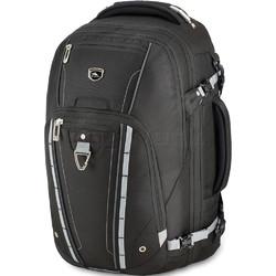 """High Sierra Vuna 15.6"""" Laptop & Tablet Convertible Backpack/Shoulder Carry-On Bag Black 06500"""