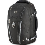 "High Sierra Vuna 15.6"" Laptop & Tablet Convertible Backpack/Shoulder Carry-On Bag Black 06500"