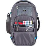 """High Sierra Vuna 15.6"""" Laptop & Tablet Convertible Backpack/Shoulder Carry-On Bag Black 06500 - 6"""