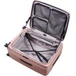 Lojel Cubo Hardside Suitcase Set of 3 Rose JCU55, JCU65, JCU78 with FREE Lojel Luggage Scale OCS27 - 5