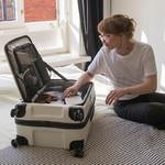 Lojel Cubo Extra Large 78cm Hardside Suitcase Warm Grey JCU78 - 7