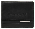 Cellini Dublin Men's Leather Wallet Black EX323
