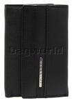 Cellini Dublin Leather Key Wallet Black EX324