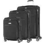 Samsonite B'Lite 4 Softside Suitcase Set of 3 Black 24898, 24900, 24901 with FREE Samsonite Luggage Scale 34042