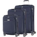 Samsonite B'Lite 4 Softside Suitcase Set of 3 Navy 24898, 24900, 24901 with FREE Samsonite Luggage Scale 34042