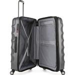 Antler Juno Metallic DLX Large 79cm Hardside Suitcase Charcoal 71015 - 3
