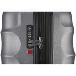 Antler Juno Metallic DLX Large 79cm Hardside Suitcase Charcoal 71015 - 4