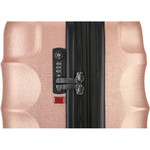Antler Juno Metallic DLX Medium 68cm Hardside Suitcase Rose Gold 71016 - 4