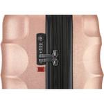 Antler Juno Metallic DLX Small/Cabin 56cm Hardside Suitcase Rose Gold 71258 - 4