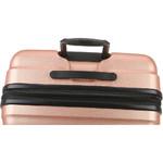 Antler Juno Metallic DLX Medium 68cm Hardside Suitcase Rose Gold 71016 - 5