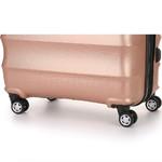 Antler Juno Metallic DLX Small/Cabin 56cm Hardside Suitcase Rose Gold 71258 - 6