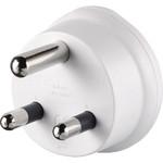 GO Travel Adaptor Plug Australia to South Africa White GO563 - 1