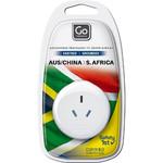 GO Travel Adaptor Plug Australia to South Africa White GO563 - 4