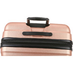 Antler Juno Metallic DLX Hardside Suitcase Set of 3 Rose Gold 71015, 71016, 71258 with FREE GO Travel Luggage Scale G2006 - 5