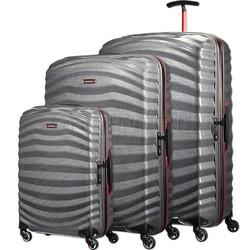 Samsonite Lite-Shock Sport Hardside Suitcase Set of 3 Eclipse Grey 05262, 05267, 05269 with FREE Samsonite Luggage Scale 34042