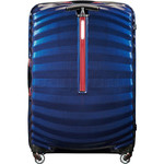 Samsonite Lite-Shock Sport Hardside Suitcase Set of 3 Nautical Blue 05262, 05267, 05269 with FREE Samsonite Luggage Scale 34042 - 1