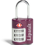 Lipault Travel Accessories TSA Combination Lock Fuchsia 64793