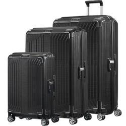 Samsonite Lite-Box Hardside Suitcase Set of 3 Black 79301, 79300, 79297 with FREE Samsonite Luggage Scale 34042