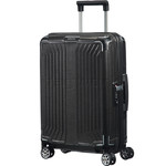 Samsonite Lite-Box Small/Cabin 55cm Hardsided Suitcase Black 79297