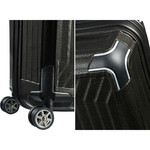 Samsonite Lite-Box Hardside Suitcase Set of 3 Black 79301, 79300, 79297 with FREE Samsonite Luggage Scale 34042 - 6