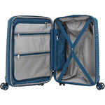 Samsonite Varro Small/Cabin 55cm Hardside Suitcase Peacock Blue 12419 - 5