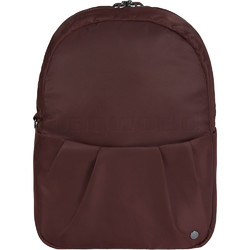 "Pacsafe Citysafe CX Anti-Theft Convertible 11"" Laptop Backpack Merlot 20410"
