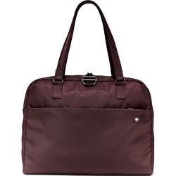 "Pacsafe Citysafe CX Anti-Theft 15"" Laptop & Tablet Slim Briefcase Merlot 20435"