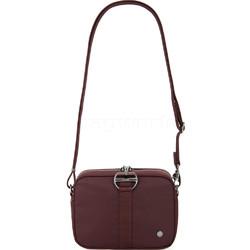 Pacsafe Citysafe CX Anti-Theft Square Crossbody Bag Merlot 20436