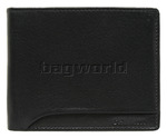 Cellini Dakar Men's Leather Wallet Black EX308