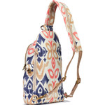 Pacsafe Stylesafe Anti-Theft Tablet Sling Backpack Ikat Coral 20605 - 1