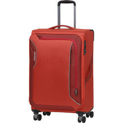 American Tourister Applite 3.0S Medium 71cm Softside Suitcase Orange 91973