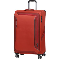 American Tourister Applite 3.0S Large 82cm Softside Suitcase Orange 91974