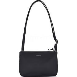 Pacsafe Stylesafe Anti-Theft Tablet Double Zip Crossbody Bag Black 20630