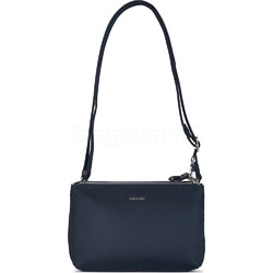 Pacsafe Stylesafe Anti-Theft Tablet Double Zip Crossbody Bag Navy 20630