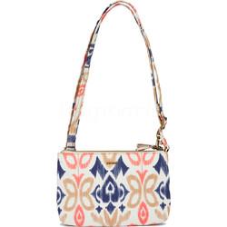 9f4822ea3 Pacsafe Stylesafe Anti-Theft Tablet Double Zip Cross Body Bag Ikat Coral  20630