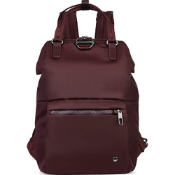 "Pacsafe Citysafe CX Anti-Theft 11.6"" Laptop Mini Backpack Merlot 20421"