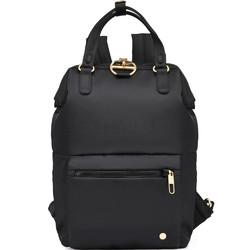 "Pacsafe Citysafe CX Anti-Theft 11.6"" Laptop Mini Backpack Black 20421"