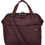 Pacsafe Citysafe CX Anti-Theft Tablet Satchel Bag Merlot 20440