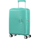 American Tourister Curio Small/Cabin 55cm Hardside Suitcase Mint Green 87999