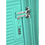 American Tourister Curio Small/Cabin 55cm Hardside Suitcase Mint Green 87999 - 3