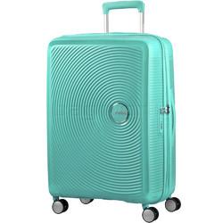 American Tourister Curio Medium 69cm Hardside Suitcase Mint Green 86229
