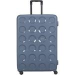 Lojel Vita Hardside Suitcase Set of 3 Steel Blue JVI55, JVI70, JVI80 with FREE Lojel Luggage Scale OCS27 - 3