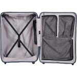 Lojel Vita Hardside Suitcase Set of 3 Steel Blue JVI55, JVI70, JVI80 with FREE Lojel Luggage Scale OCS27 - 4