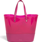 Lipault Pop'N'Gum Beach Bag Deep Fuchsia 21761