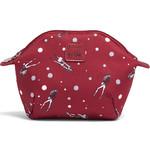 Lipault X Izak Zenou Cosmetic Pouch Garnet Red 21938 - 1