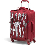 Lipault X Izak Zenou Small/Cabin 55cm Softside Suitcase Garnet Red 21942
