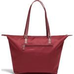 Lipault X Izak Zenou Medium Tote Bag Garnet Red 21944 - 1