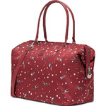 Lipault X Izak Zenou Medium Weekend Bag Garnet Red 21945